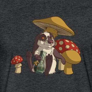 420 Bunny - Fitted Cotton/Poly T-Shirt by Next Level