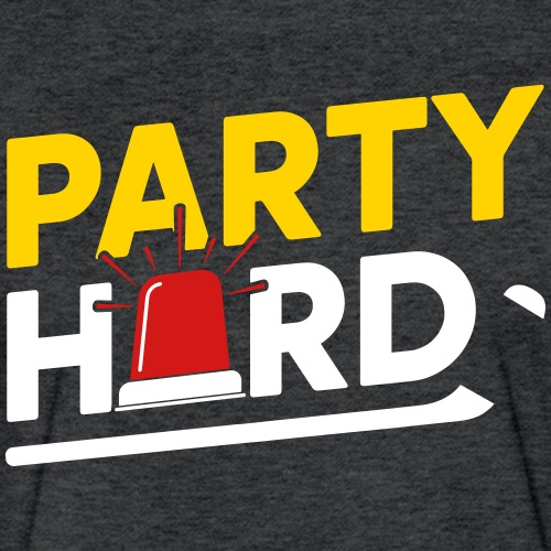 party hard 2018 - Fitted Cotton/Poly T-Shirt by Next Level