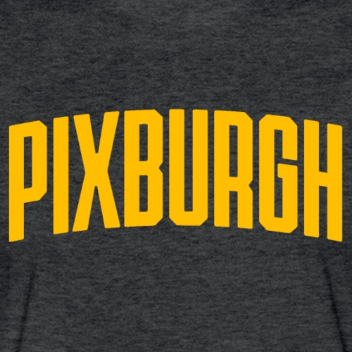 Pixburgh - Fitted Cotton/Poly T-Shirt by Next Level