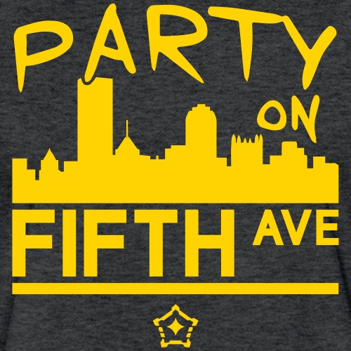 party_on_fifth2 - Fitted Cotton/Poly T-Shirt by Next Level