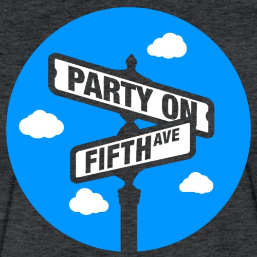 party on fifth - Fitted Cotton/Poly T-Shirt by Next Level