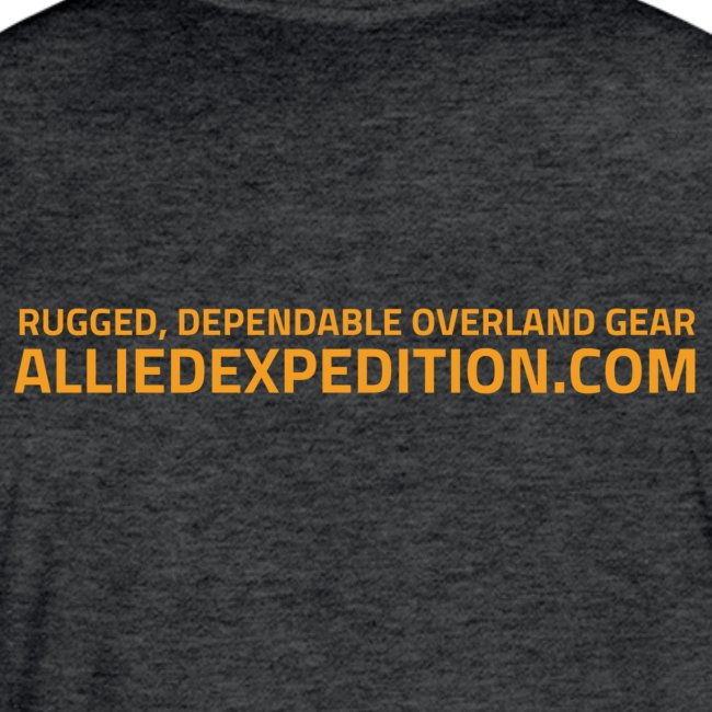 Allied Expedition | Logo Tee | Double-sided