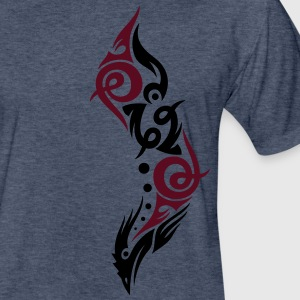 Beautiful Tribal Bird, eagle. - Fitted Cotton/Poly T-Shirt by Next Level