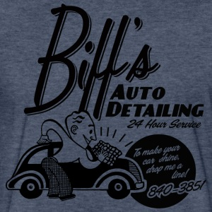 Biffs Auto Detailing - Fitted Cotton/Poly T-Shirt by Next Level