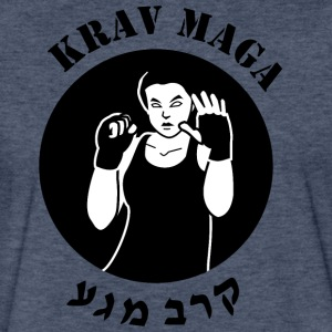 Krav Maga - Fitted Cotton/Poly T-Shirt by Next Level
