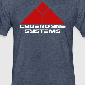 Cyberdyne Systems Terminator Movie - Fitted Cotton/Poly T-Shirt by Next Level