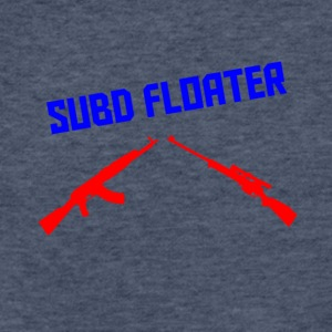 subd Floater - Fitted Cotton/Poly T-Shirt by Next Level