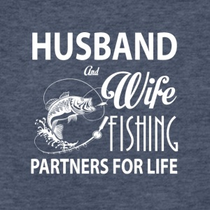 Husband And Wife Fishing Partners For Life T Shirt - Fitted Cotton/Poly T-Shirt by Next Level