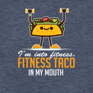 I'm Into Fitness Taco In My Mouth - Fitted Cotton/Poly T-Shirt by Next Level