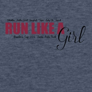 Run Like A Girl Breeders Cup 2016 - Fitted Cotton/Poly T-Shirt by Next Level