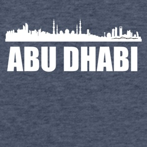 Abu Dhabi Skyline - Fitted Cotton/Poly T-Shirt by Next Level