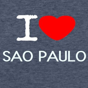 I LOVE SAO PAULO - Fitted Cotton/Poly T-Shirt by Next Level