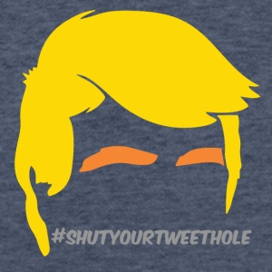 #shutyourtweethole - Fitted Cotton/Poly T-Shirt by Next Level