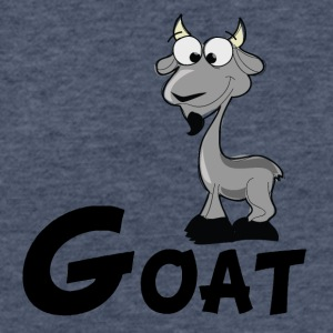 Cartoon Goat - Fitted Cotton/Poly T-Shirt by Next Level