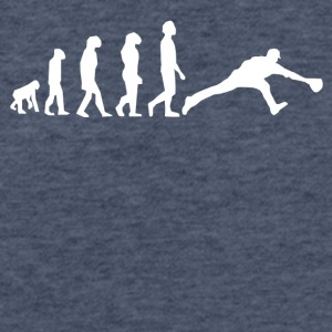 Baseball Evolution - Fitted Cotton/Poly T-Shirt by Next Level
