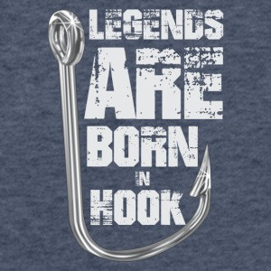 Legends Are Born in HOOK - Fitted Cotton/Poly T-Shirt by Next Level