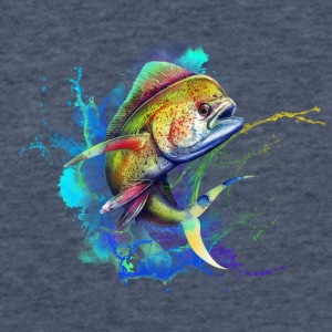 mahi mahi - Fitted Cotton/Poly T-Shirt by Next Level