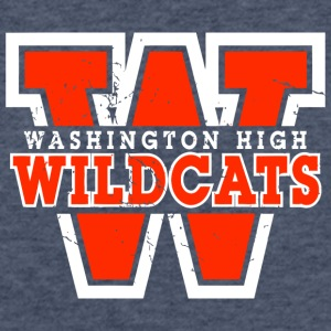 Washington High - Fitted Cotton/Poly T-Shirt by Next Level