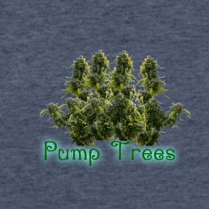Pump Trees - Fitted Cotton/Poly T-Shirt by Next Level