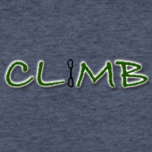 Climb Female and Male Climbing T-Shirt - Fitted Cotton/Poly T-Shirt by Next Level