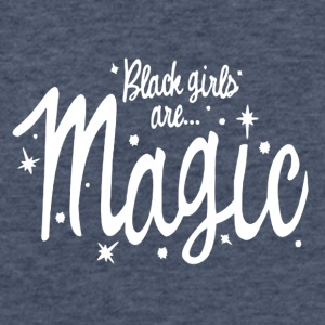 Black Girls Are Magic Tshirt - Fitted Cotton/Poly T-Shirt by Next Level