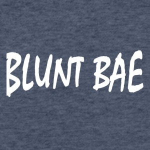 Blunt Bae - Fitted Cotton/Poly T-Shirt by Next Level