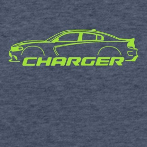 Sublime Green Charger - Fitted Cotton/Poly T-Shirt by Next Level
