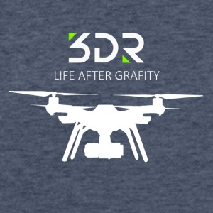 3DR DRONE SOLO - Fitted Cotton/Poly T-Shirt by Next Level