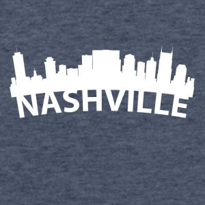 Arc Skyline Of Nashville TN - Fitted Cotton/Poly T-Shirt by Next Level