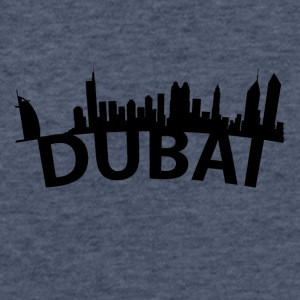 Arc Skyline Of Dubai United Arab Emirates - Fitted Cotton/Poly T-Shirt by Next Level
