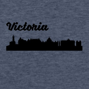 Victoria Skyline - Fitted Cotton/Poly T-Shirt by Next Level