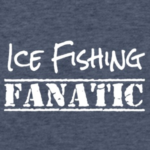 ICE FISHING SHIRT - Fitted Cotton/Poly T-Shirt by Next Level
