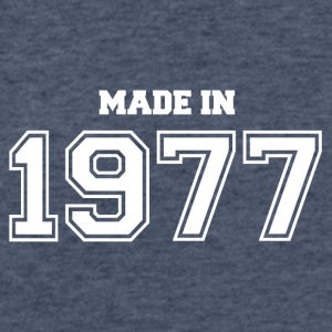 1977 - Fitted Cotton/Poly T-Shirt by Next Level