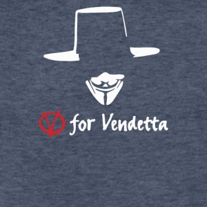For Vendetta - Fitted Cotton/Poly T-Shirt by Next Level