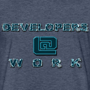 DEVELOPERS@WORK - Fitted Cotton/Poly T-Shirt by Next Level