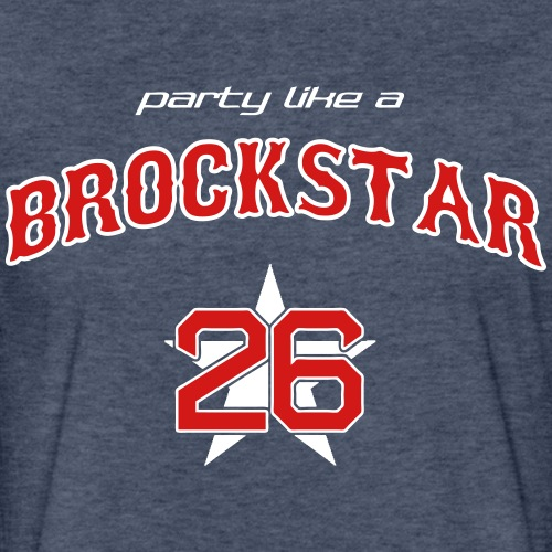 Brockstar T-Shirts - Fitted Cotton/Poly T-Shirt by Next Level