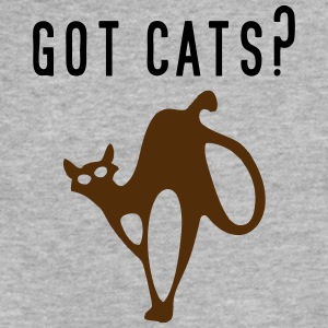 GOT CATS - Fitted Cotton/Poly T-Shirt by Next Level