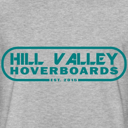Hill Valley Hoverboards - Fitted Cotton/Poly T-Shirt by Next Level