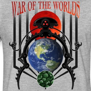 War of the Worlds Martian Spacecraft - Fitted Cotton/Poly T-Shirt by Next Level
