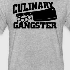 Culinary Gangster Chef - Fitted Cotton/Poly T-Shirt by Next Level