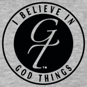 I Believe In God Things Classic Design - Fitted Cotton/Poly T-Shirt by Next Level