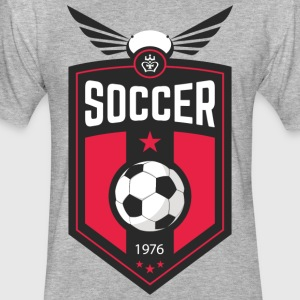 soccer1976_T-shirt - Fitted Cotton/Poly T-Shirt by Next Level