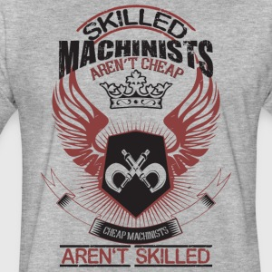 Skilled Machinists Aren't Cheap T Shirt - Fitted Cotton/Poly T-Shirt by Next Level