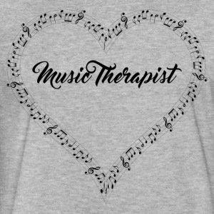 Music therapist - Fitted Cotton/Poly T-Shirt by Next Level