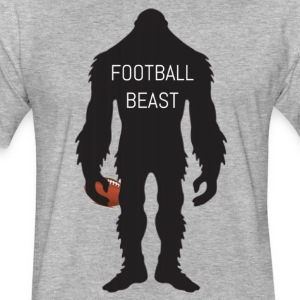 Football Beast - Fitted Cotton/Poly T-Shirt by Next Level