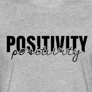 'Positivity' Collection - Fitted Cotton/Poly T-Shirt by Next Level
