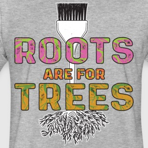 Roots Are For Trees | Curl Centric - Fitted Cotton/Poly T-Shirt by Next Level