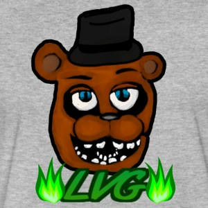 Freddy Fazbear Official LordVictorGames Merch - Fitted Cotton/Poly T-Shirt by Next Level