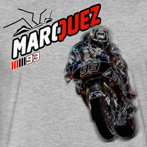 MARC MARQUEZ IN ACTION - Fitted Cotton/Poly T-Shirt by Next Level