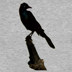 Black Bird - Fitted Cotton/Poly T-Shirt by Next Level